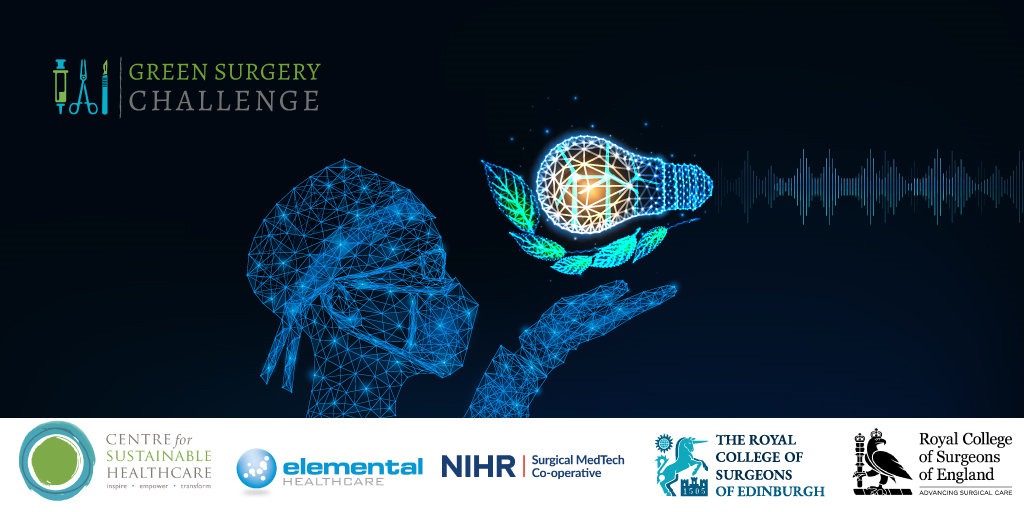 We have formed partnerships with a number of organisations to launch the exciting #GreenSurgeryChallenge. Join us on 3rd Feb to learn how to transform your surgical practice into a more #sustainable one! -> https://buff.ly/3qQUil0